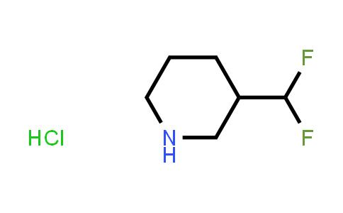 1427455-16-0 | 3-Difluoromethylpiperidine hydrochloride