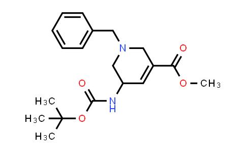 MC458303 | 1823791-42-9 | methyl 1-benzyl-5-(tert-butoxycarbonylamino)-1,2,5,6-tetrahydropyridine-3-carboxylate