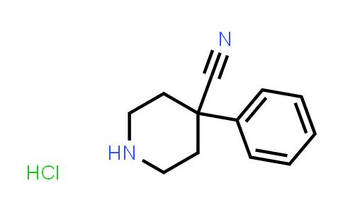 51304-58-6   4-CYANO-4-PHENYLPIPERIDINE HYDROCHLORIDE