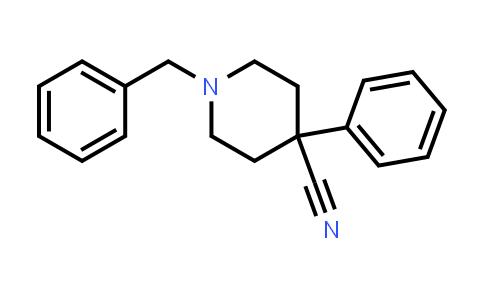 56243-25-5 | 1-benzyl-4-phenylpiperidine-4-carbonitrile