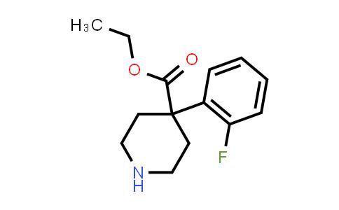 MC458339 | 80142-03-6 | 4-(2-FLUOROPHENYL)-4-PIPERIDINECARBOXYLIC ACID ETHYL ESTER
