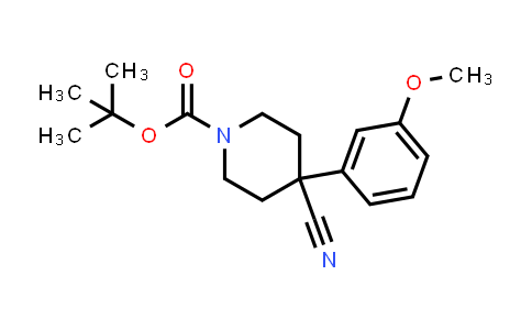 MC458343 | 553631-35-9 | 1-BOC-4-CYANO-4-(3-METHOXYPHENYL)-PIPERIDINE