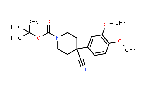 MC458345 | 666179-93-7 | 1-BOC-4-CYANO-4-(3,4-DIMETHOXYPHENYL)-PIPERIDINE
