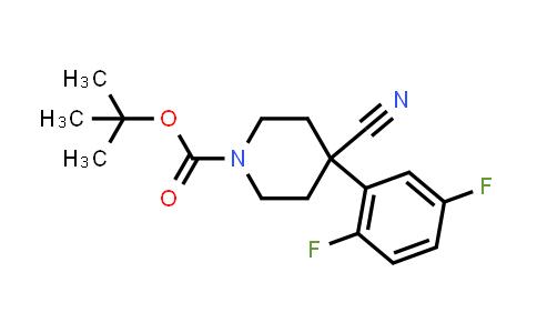 MC458351 | 619292-29-4 | 1-BOC-4-CYANO-4-(2,5-DIFLUOROPHENYL)-PIPERIDINE