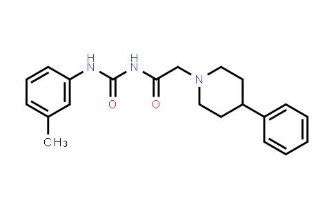 69020-12-8 | 1-PIPERIDINEACETAMIDE, N-(((3-METHYLPHENYL)AMINO)CARBONYL)-4-PHENYL-