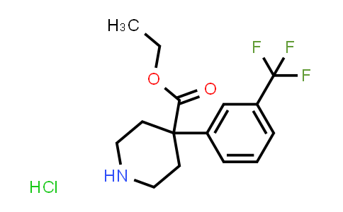 MC458363 | 80138-96-1 | 4-[3-(TRIFLUOROMETHYL)PHENYL]-4-PIPERIDINECARBOXYLIC ACID ETHYL ESTER HYDROCHLORIDE