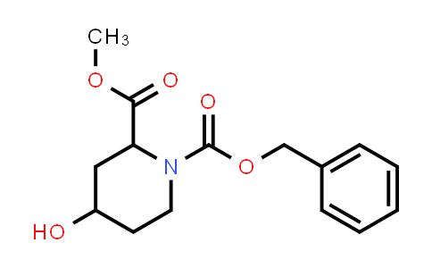 847029-99-6 | 4-HYDROXY-PIPERIDINE-1,2-DICARBOXYLIC ACID 1-BENZYL ESTER 2-METHYL ESTER