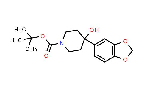 MC458367 | 870452-17-8 | 1-BOC-4-(1,3-BENZODIOXOL-5-YL)-4-HYDROXYPIPERIDINE