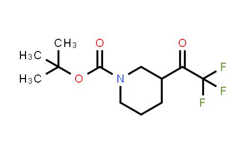 884512-51-0 | tert-butyl 3-(2,2,2-trifluoroacetyl)piperidine-1-carboxylate