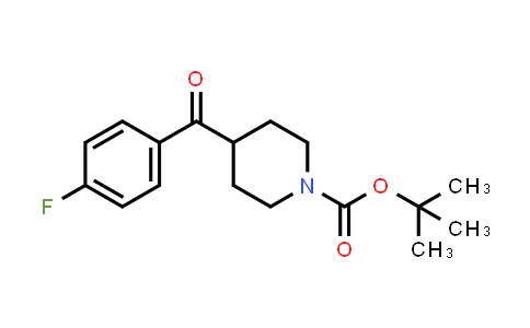 160296-40-2   tert-butyl 4-(4-fluorobenzoyl)piperidine-1-carboxylate