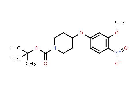 DY458376 | 1097920-54-1 | tert-butyl 4-(3-methoxy-4-nitrophenoxy)piperidine-1-carboxylate