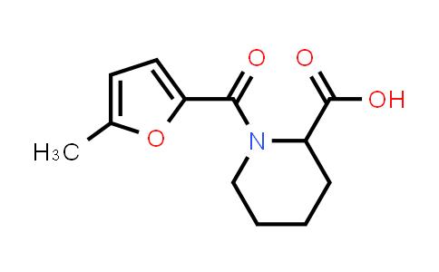 427882-96-0 | 1-(5-METHYL-FURAN-2-CARBONYL)-PIPERIDINE-2-CARBOXYLIC ACID