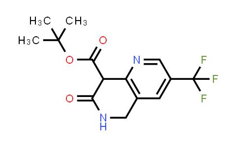 624734-24-3 | 7-OXO-3-TRIFLUOROMETHYL-5,6,7,8-TETRAHYDRO-[1,6]NAPHTHYRIDINE-8-CARBOXYLIC ACID TERT-BUTYL ESTER