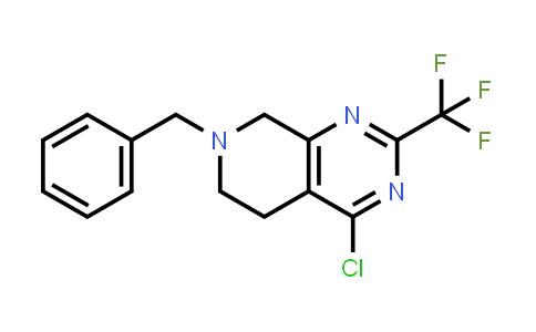 MC458383 | 647863-01-2 | 7-BENZYL-4-CHLORO-2-(TRIFLUOROMETHYL)-5,6,7,8-TETRAHYDROPYRIDO[3,4-D]PYRIMIDINE