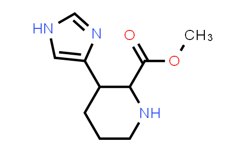 MC458384 | 67319-35-1 | METHYL 3-(IMIDAZOL-4-YL)-PIPERIDINE-2-CARBOXYLATE