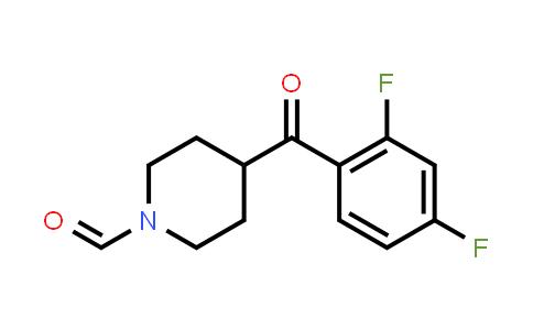 84162-80-1 | 1-FORMYL-4-(2,4-DIFLUOROBENZOYL)PIPERIDINE