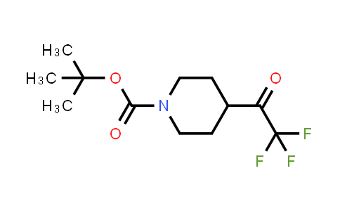 MC458404 | 1093759-80-8 | tert-butyl 4-(2,2,2-trifluoroacetyl)piperidine-1-carboxylate