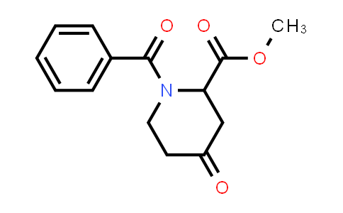 1881288-04-5 | methyl 1-benzoyl-4-oxopiperidine-2-carboxylate