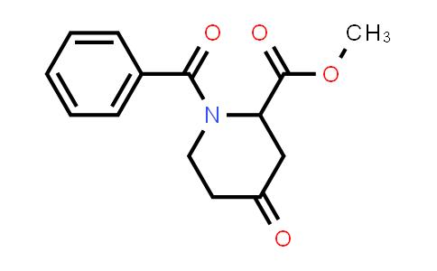 MC458405 | 1881288-04-5 | methyl 1-benzoyl-4-oxopiperidine-2-carboxylate
