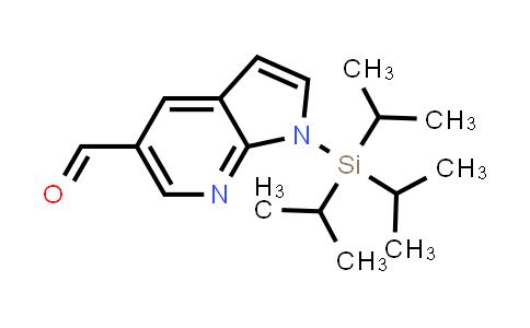 DY458426 | 916259-49-9 | 1H-PYRROLO[2,3-B]PYRIDINE-5-CARBOXALDEHYDE, 1-[TRIS(1-METHYLETHYL)SILYL]-
