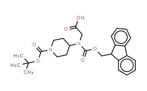 DY458435 | 269078-80-0 | 1-BOC-4-4-[(CARBOXYMETHYL)-FMOC-AMINO]-PIPERIDINE