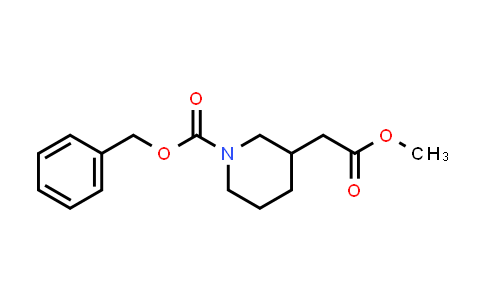MC458452 | 86827-08-9 | Methyl N-Cbz-3-piperidineacetate