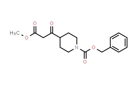 1013353-70-2 | BETA-OXO-1-CBZ-4-PIPERIDINEPROPANOIC ACID METHYL ESTER