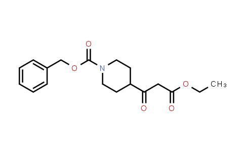 DY458498 | 167414-75-7 | 4-(2-ETHOXYCARBONYL-ACETYL)-PIPERIDINE-1-CARBOXYLIC ACID BENZYL ESTER