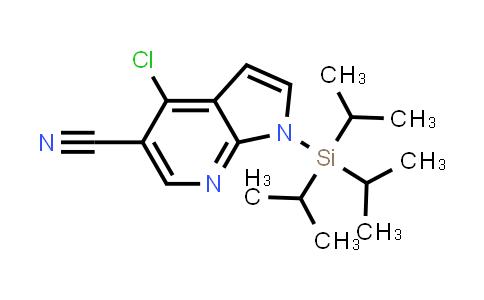 DY458514 | 920966-01-4 | 1H-PYRROLO[2,3-B]PYRIDINE-5-CARBONITRILE, 4-CHLORO-1-[TRIS(1-METHYLETHYL)SILYL]-