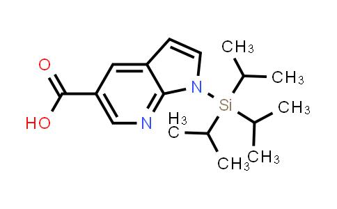 DY458551 | 929691-26-9 | 1H-PYRROLO[2,3-B]PYRIDINE-5-CARBOXYLIC ACID, 1-[TRIS(1-METHYLETHYL)SILYL]-