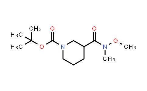 MC458575 | 189442-78-2 | N-Boc-3-(Methoxy-Methyl-carbamoyl)piperidine