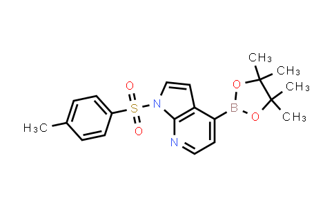DY458579 | 916176-50-6 | 1-TOSYL-1H-PYRROLO[2,3-B]PYRIDINE-4-BORONIC ACID PINACOL ESTER