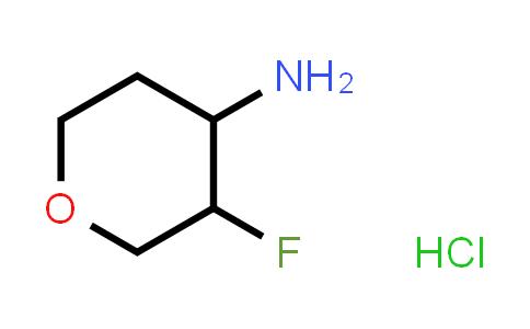 1630906-66-9   trans-3-fluoro-tetrahydro-2H-pyran-4-amine hydrochloride racemate