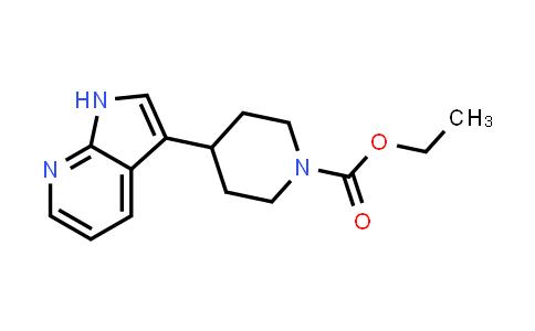 612097-74-2 | 1-PIPERIDINECARBOXYLIC ACID, 4-(1H-PYRROLO[2,3-B]PYRIDIN-3-YL)-, ETHYL ESTER