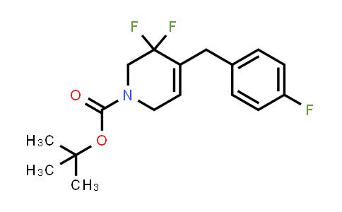 2101206-53-3 | tert-butyl 5,5-difluoro-4-(4-fluorobenzyl)-5,6-dihydropyridine-1(2H)-carboxylate