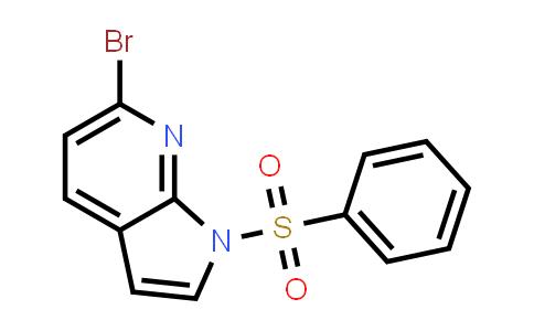 MC458605 | 1001070-23-0 | 1H-PYRROLO[2,3-B]PYRIDINE, 6-BROMO-1-(PHENYLSULFONYL)-