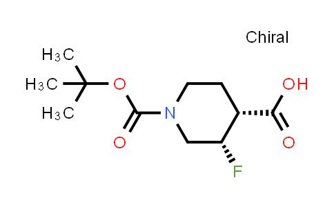MC458623 | 1864003-07-5 | (3S,4R)-1-(tert-butoxycarbonyl)-3-fluoropiperidine-4-carboxylic acid