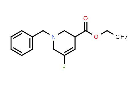 1823391-39-4 | ethyl 1-benzyl-5-fluoro-1,2,3,6-tetrahydropyridine-3-carboxylate