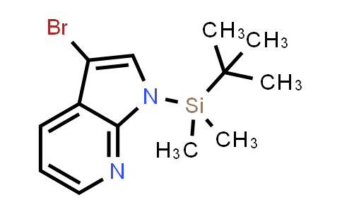 DY458626 | 226085-15-0 | 1H-PYRROLO[2,3-B]PYRIDINE, 3-BROMO-1-[(1,1-DIMETHYLETHYL)DIMETHYLSILYL]-