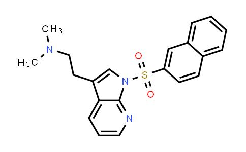 554452-56-1 | 1H-PYRROLO[2,3-B]PYRIDINE-3-ETHANAMINE, N,N-DIMETHYL-1-(2-NAPHTHALENYLSULFONYL)-