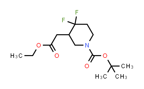 MC458634 | 1864052-94-7 | tert-butyl 3-(2-ethoxy-2-oxoethyl)-4,4-difluoropiperidine-1-carboxylate