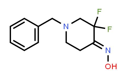 MC458637 | 1039738-28-7 | 1-benzyl-3,3-difluoropiperidin-4-one oxime