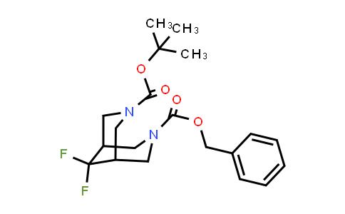 MC458638 | 1823424-25-4 | 3-benzyl 7-tert-butyl 9,9-difluoro-3,7-diaza-bicyclo[3.3.1]nonane-3,7-dicarboxylate