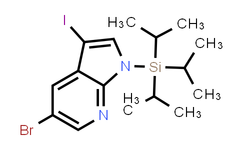 DY458650 | 875639-49-9 | 5-BROMO-3-IODO-1-TRIISOPROPYLSILANYL-1H-PYRROLO[2,3-B]PYRIDINE