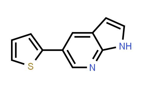 611204-94-5   1H-PYRROLO[2,3-B]PYRIDINE, 5-(2-THIENYL)-