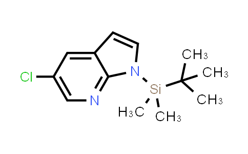 DY458654 | 866546-08-9 | 1H-PYRROLO[2,3-B]PYRIDINE, 5-CHLORO-1-[(1,1-DIMETHYLETHYL)DIMETHYLSILYL]-