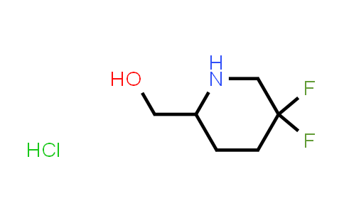 1823930-16-0   (5,5-difluoropiperidin-2-yl)methanol hydrochloride