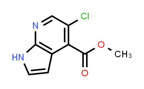 MC458682 | 1015609-99-0 | METHYL 5-CHLORO-1H-PYRROLO[2,3-B]PYRIDINE-4-CARBOXYLATE