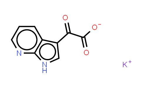 357263-59-3 | ALFA-OXO-1H-PYRROLO-[2,3B]PYRIDINE-3-ACETIC ACID MONOPOTASSIUM SALT