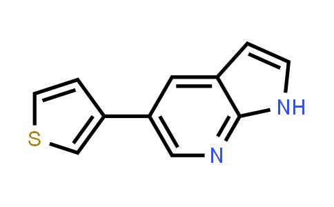 611205-10-8 | 1H-PYRROLO[2,3-B]PYRIDINE, 5-(3-THIENYL)-